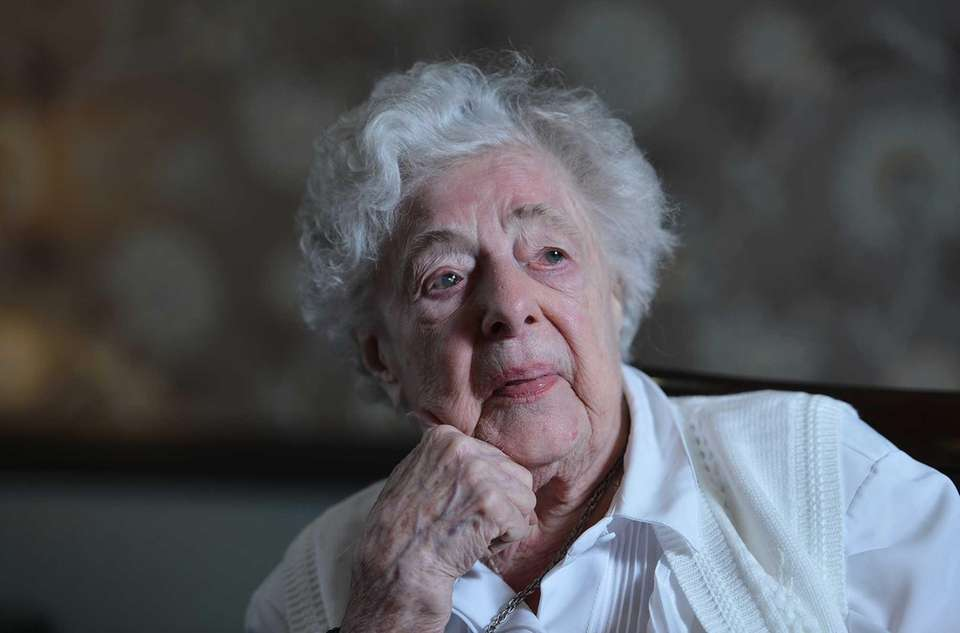 Madeleine Turpan, who turned 100 years old on