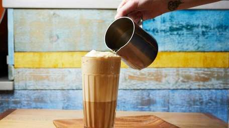 The latte soda at Jack Jack's Coffee House