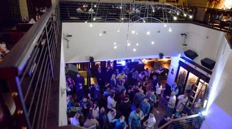 Patrons dance the night away at the after