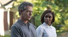 "Ben Mendelsohn and Cynthia Erivo in HBO's ""The"