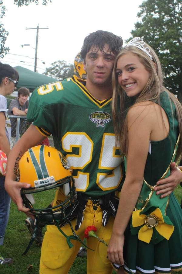 Lynbrook High School Homecoming King and Queen Charles
