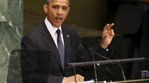 President Barack Obama addresses the 67th session of