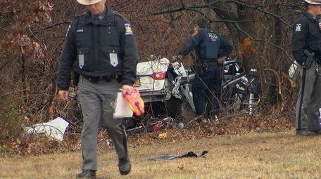 State Police investigate a fatal crash that occurred
