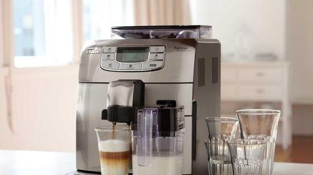 Williams-Sonoma's Saeco Intelia Cappuccino Espresso Machine is a