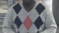Police say this man robbed two people at