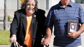 Concetta Napoli and Thomas Fusco, parents of victim