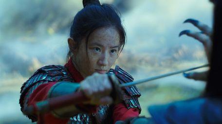 Liu Yifei in the title role of Walt
