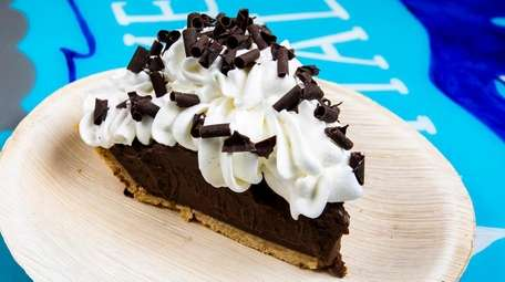 Chocolate cream pie at The Gourmet Whaler in