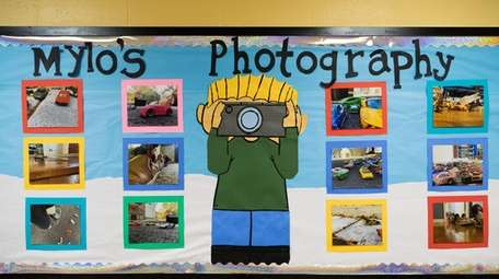 Mylo's work has been on display outside the