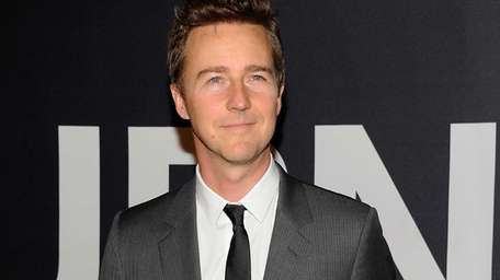 Edward Norton, seen above at a movie premiere