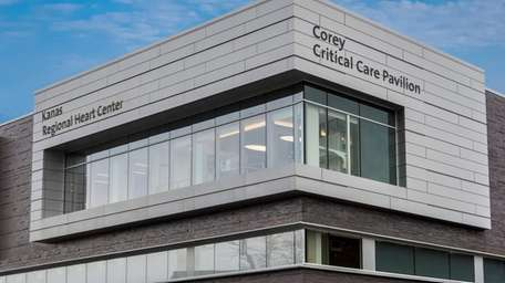 Northwell Health said Thursday it has completed construction