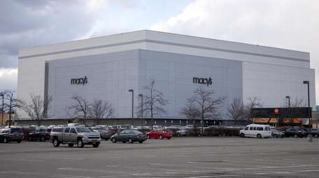 The Macy's at Broadway Commons in Hicksville, seen