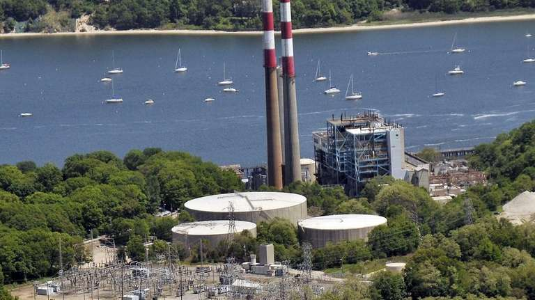 A Port Jefferson steam power plant is one