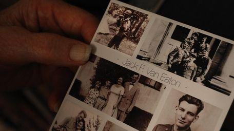 Jack Van Eaton, top left, carries his machine