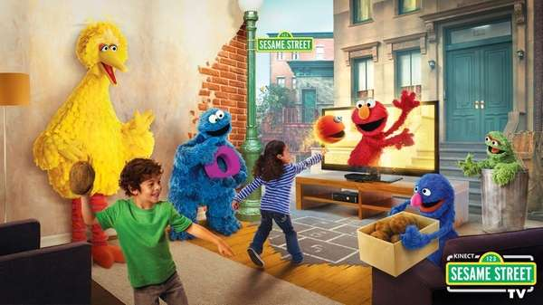Kinect Sesame Street TV lets kids have a