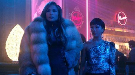 Jennifer Lopez as Ramona and Constance Wu as