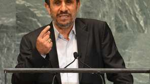 Mahmoud Ahmadinejad, President of the Islamic Republic of
