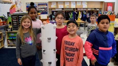 In East Patchogue, second-graders in Jill DeRosa's class