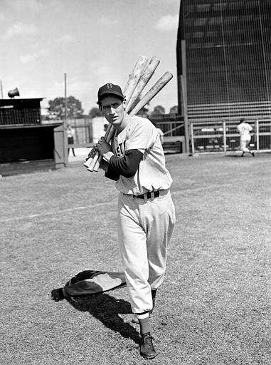 1942: TED WILLIAMS | Boston Stats: .356 average,