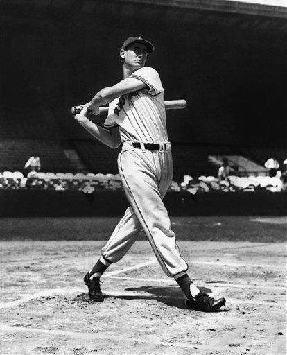 1947: TED WILLIAMS | Boston Stats: .343 average,
