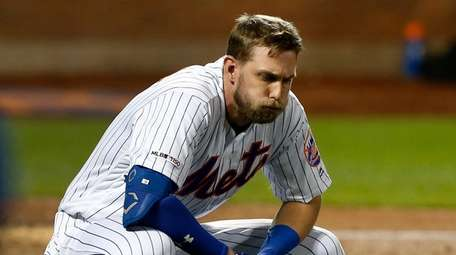 Jeff McNeil after he was hit by a