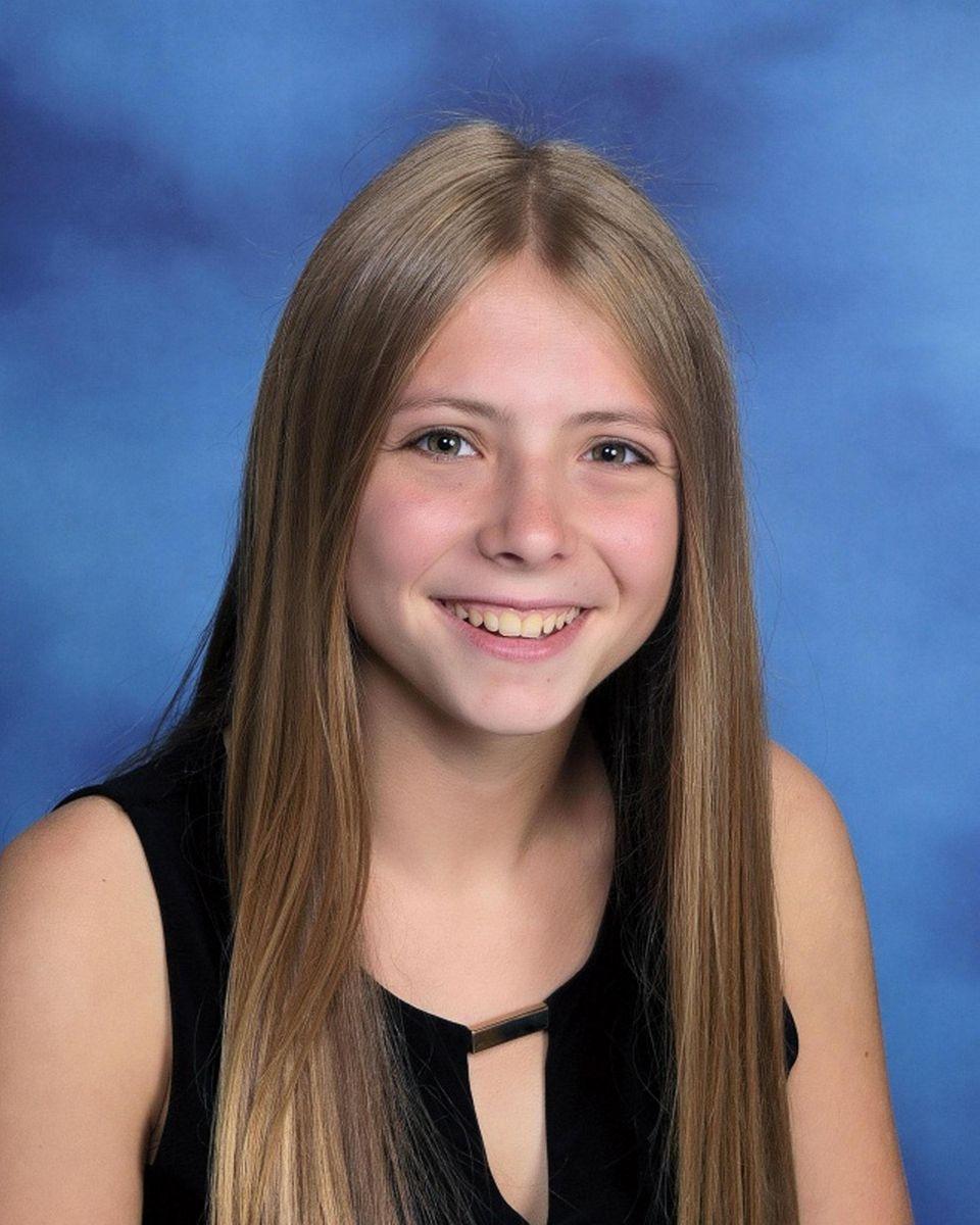 Hailey Edelman of Syosset High School is a