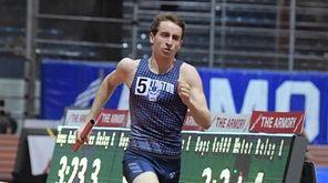 Justin Stevens of Huntington taking his team to