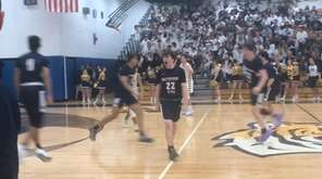Northport survived Smithtown West in double overtime, 80-75,