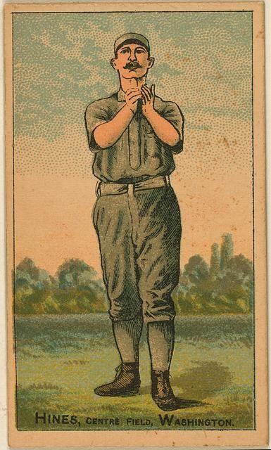 1878: PAUL HINES   Providence Stats: .358 average,