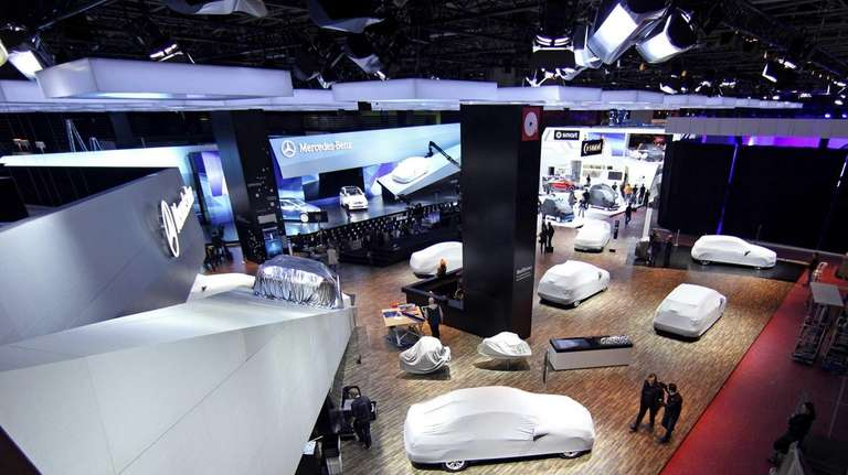 The Paris Motor Show opens to the media
