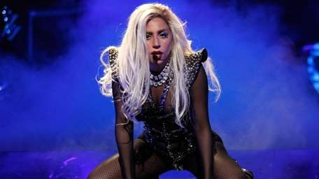 Lady Gaga performs at the iHeartRadio Music Festival