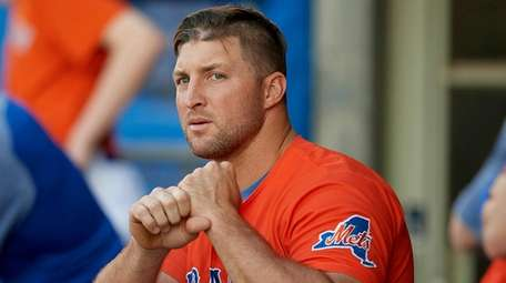 Tim Tebow has hit .223 with 18 homers