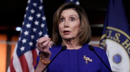 Speaker of the House Nancy Pelosi, D-Calif., Thursday