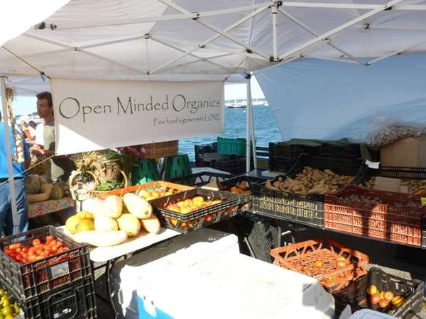 Sag Harbor Farmers Market in Sag Harbor. (Sept.