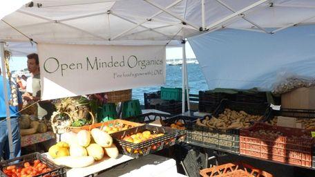 Sag Harbor Farmers Market in Sag Harbor. (Sept.