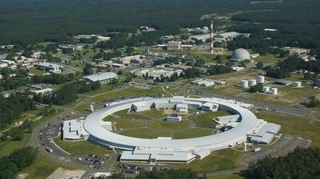 Brookhaven National Lab was selected over at least