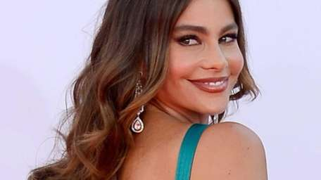 Actress Sofia Vergara arrives at the 64th Annual