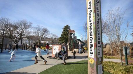 Building Bridges in Brookhaven erected a Peace Pole