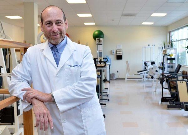 Dr. Craig Rosenberg, chairman of rehabilitation medicine at