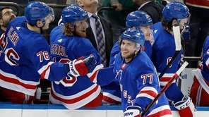 Tony DeAngelobecame the second defenseman in Rangers history