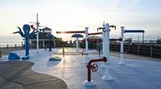 The Venetian Shores spray park in Lindenhurst is