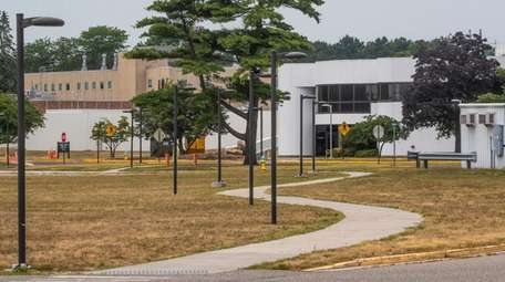 The campus at the Brookhaven National Laboratory in