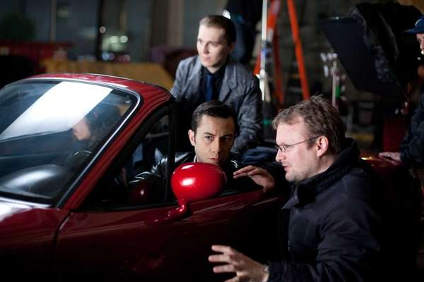 Rian Johnson directs Joseph Gordon-Levitt in