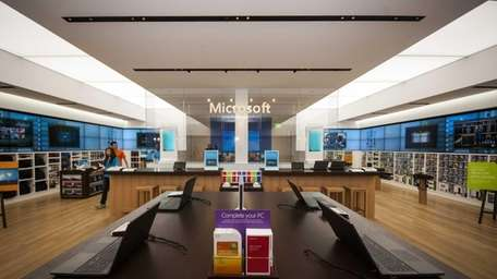 Microsoft is opening its first LI store on