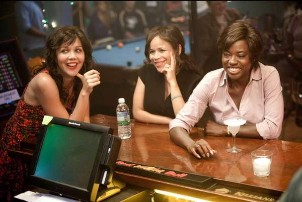 Maggie Gyllenhaal, from left, Rosie Perez and Viola