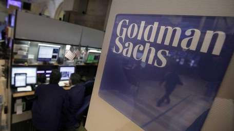 File image of Goldman Sachs. (March 15, 2012)