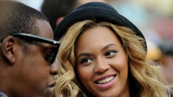 Jay-Z and Beyonce at the U.S. Open tennis