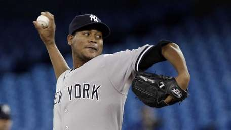 Ivan Nova delivers a pitch during a game