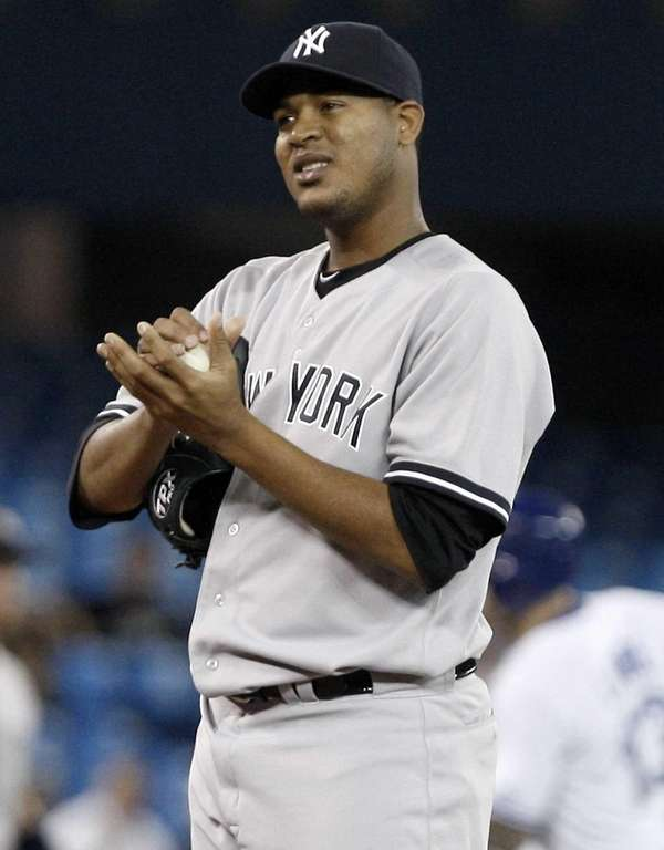 Ivan Nova reacts after giving up a two-run