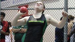 Megan Wood of Ward Melville won the Girls